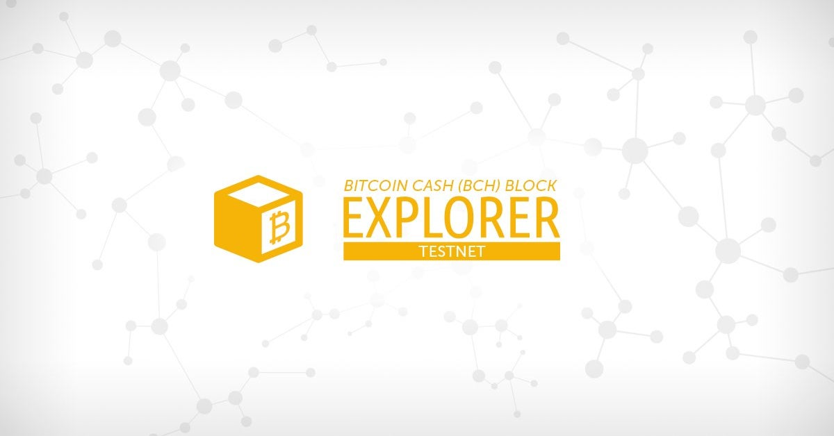 bitcoin cash explorer api